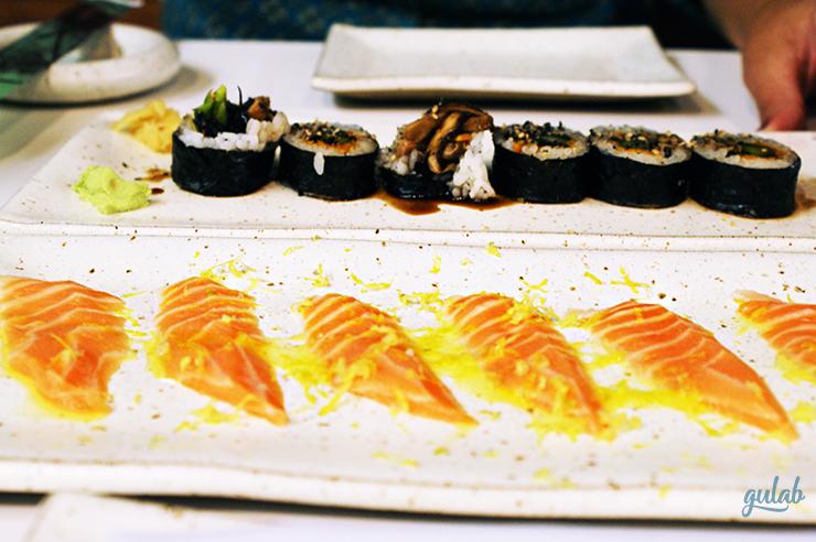 Comida japonesa no Rio